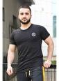 Madmext  Yırtık Detaylı  Tişört T4002 Siyah